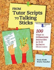 Book cover for From Tutor Scripts to Talking Sticks></a></td> <div class=