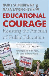 Book cover for Educational Courage