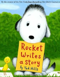 Book cover for Rocket Writes a Storyiv></td> <div class=