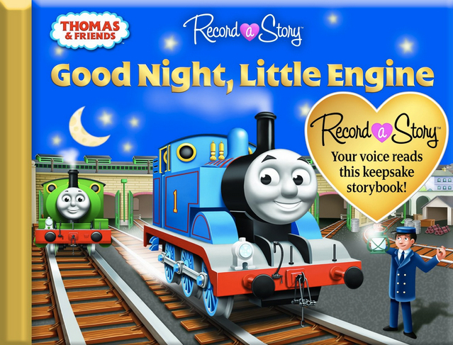 Book cover for Record a Story with Thomas &#038; Friends: Good Night, Little Engine></a></td> <div class=