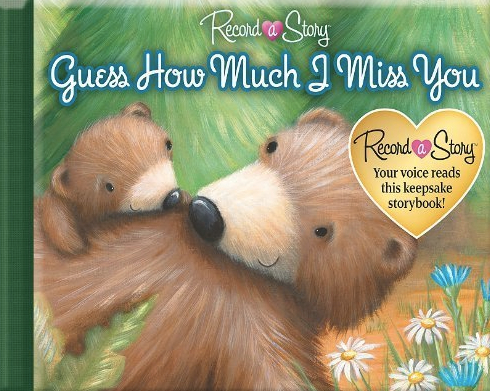Book cover for Record a Story: Guess How Much I Miss You></a></td> <div class=