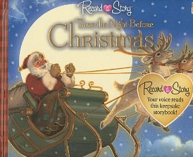 Book cover for Record a Story: 'Twas the Night Before Christmas></a></td> <div class=