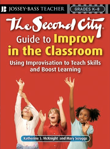 Book cover for The Second City Guide to Improv in the Classroom></a></td> <div class=