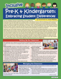 Cover for Paula Kluth's Inclusive Pre-K & Kindergarten:Embracing Student Differences