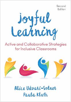 Book cover for Paula Kluth's Joyful Learning